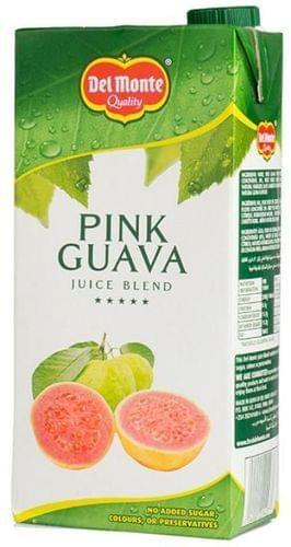 Del Monte Pink Guava Juice Blend 1Ltr