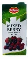 Del Monte Mixed Berry Juice Blend 1Ltr