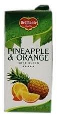 Del Monte Pineapple & Orange Juice Blend 1Ltr