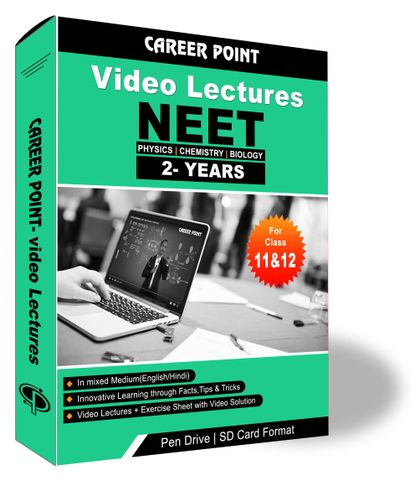 Video Lectures for NEET & AIIMS | PCB (11th+12th) | Validity 2 Years | Medium : Mixed Language (E & H)