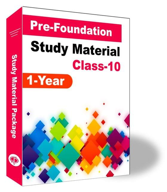 Pre-Foundation Basic & NTSE Study Material For Class 10th (1 Year)