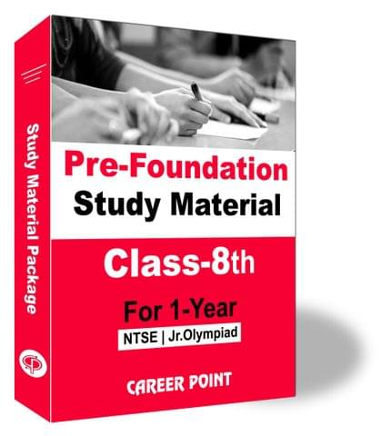 Pre-Foundation Basic & Olympiads Study Material For Class 8th (1 Year)