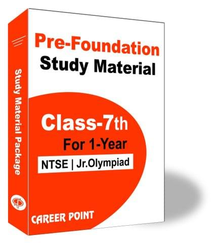 Pre-Foundation Basic & Olympiads Study Material For Class 7th (1 Year)