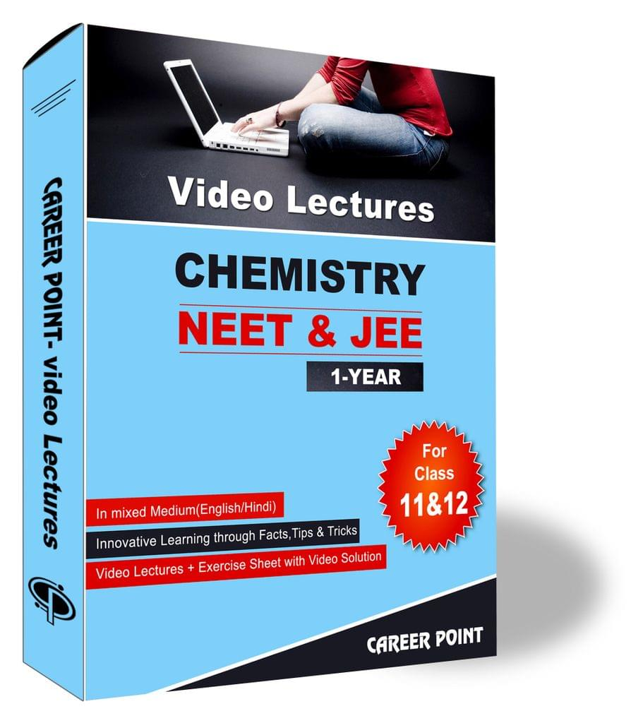 Chemistry Video Lectures (11th+12th) | JEE & NEET | Validity 1 Yr | Medium : Mixed Language (E & H)