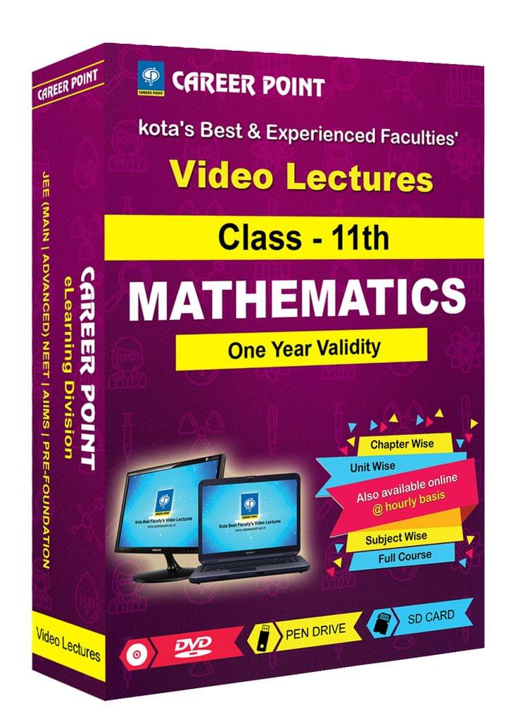 Class 11th Maths for 1 Yr Video Lectures JEE Main/Advance(Mixed Language-E/H)