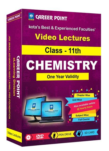 Class 11th Chemistry Video Lectures | JEE & NEET | Validity 1 Yr | Medium : Mixed Language-E/H