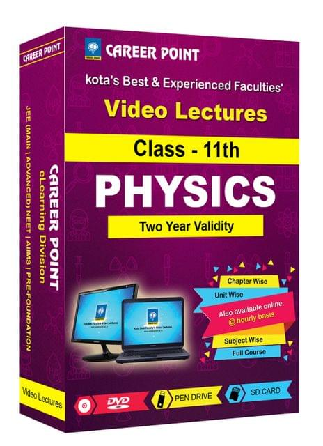 Class 11th Physics Video Lectures | JEE & NEET | Validity 2 Yrs | Medium : Mixed Language(E & H)