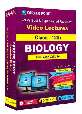Class-12th Biology  for 2 Yrs Video Lectures NEET | AIIMS(Mixed Language-E/H)