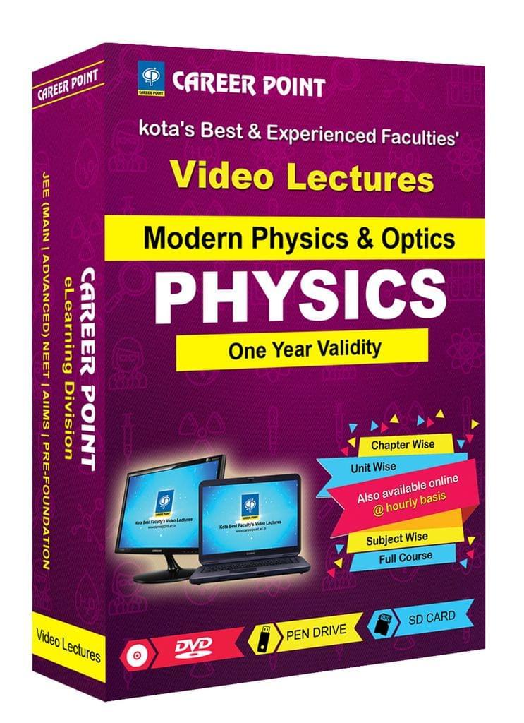 Modern Physics & Optics | JEE & NEET | Validity 1 Yr | Medium : Mixed Language (E & H)