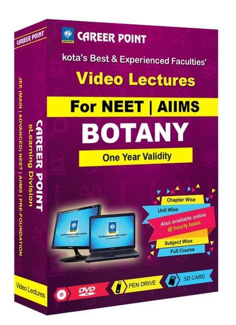 Botany | NEET | Validity 1 Yr | Medium : Mixed Language (E & H)