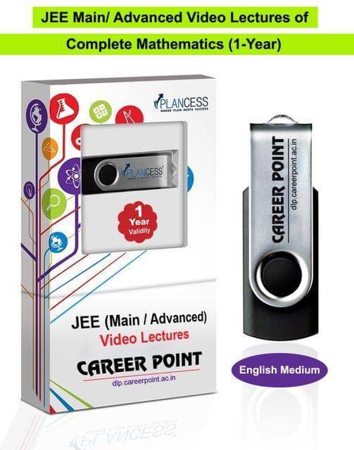 Mathematics Video Lectures (11th+12th) | JEE Main & Advanced | Validity 1 Yr | Medium : English Language