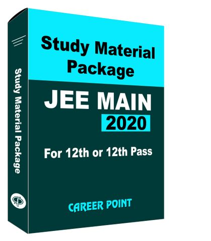 Study Material Package For JEE Main 2020 (For 12th or 12th Pass)