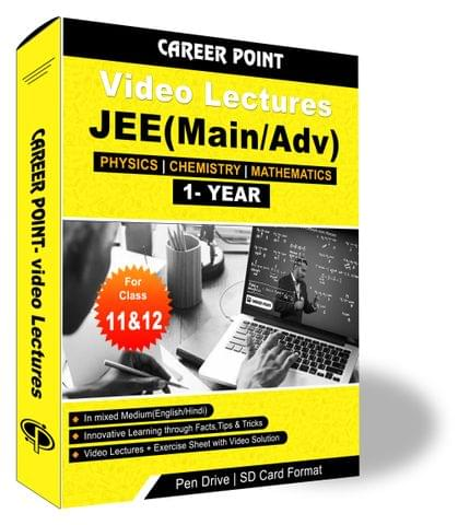Video Lectures for JEE Mains & Adv | PCM (11th+12th) | Validity 30 May 2019 | Medium : Mixed Language (E & H)