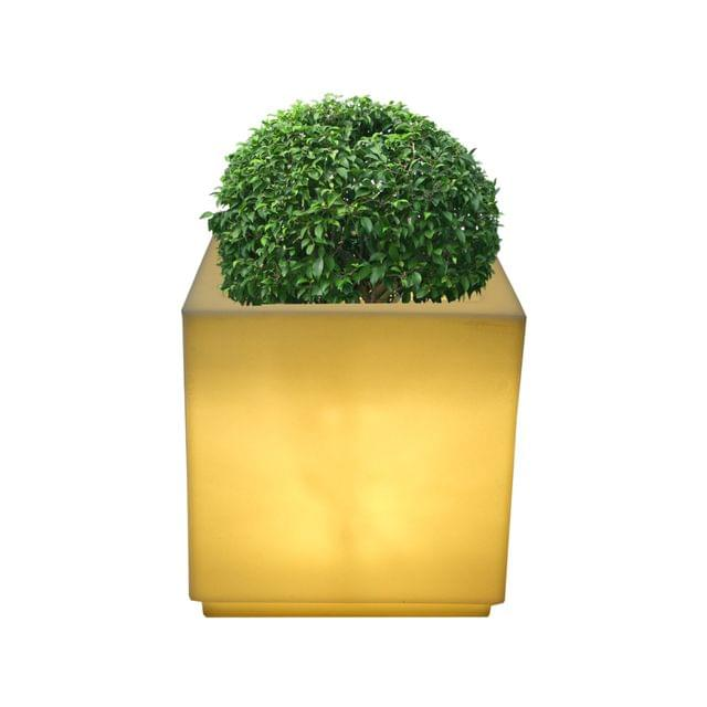 LED cube 16 Inches Planter