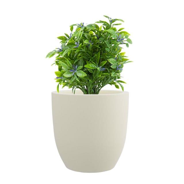 Creame White 15 Inches P Cup Planter