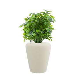 Cream White MAX 13 Inches Round Planter