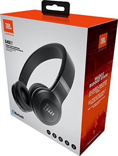 JBL E45BT Signature Sound Wireless On-Ear Headphones with Mic
