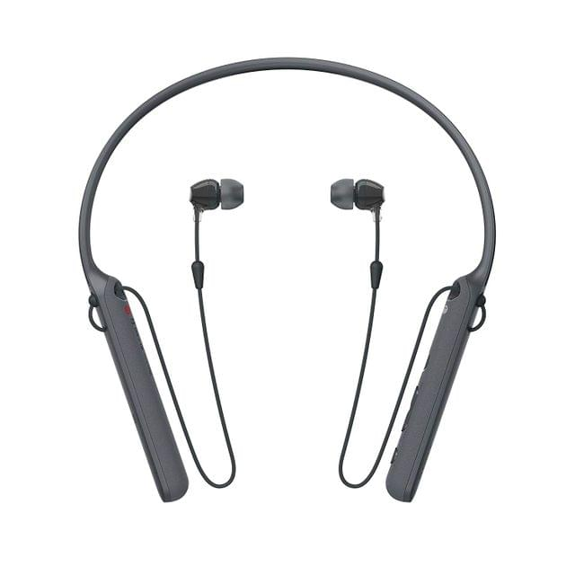Sony - C400 Wireless Behind-Neck in Ear Headphone (WIC400/B)