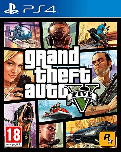 Grand Theft Auto V (PS4) Pre-Owned