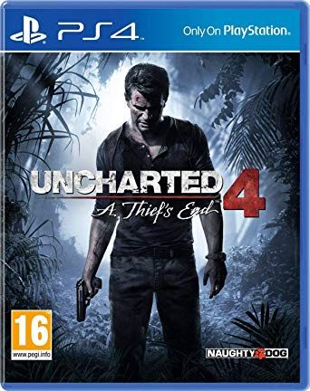 Uncharted 4: A Thief's End (PS4) Pre-Owned