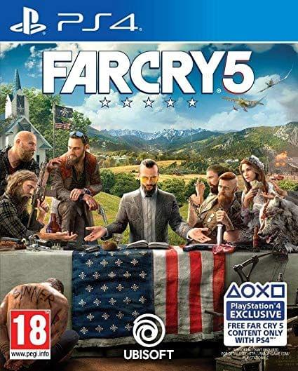 Far Cry 5 (PS4) Pre-Owned