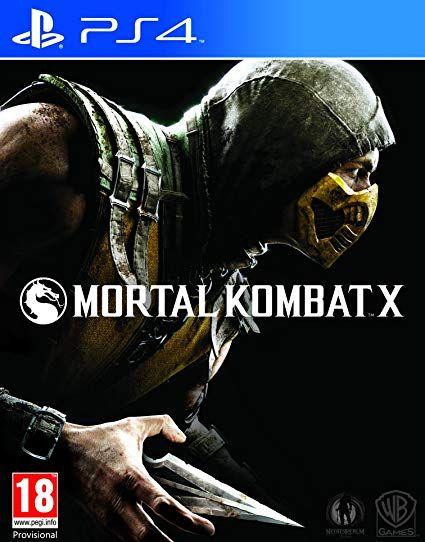 Mortal Kombat X (PS4) Pre Owned