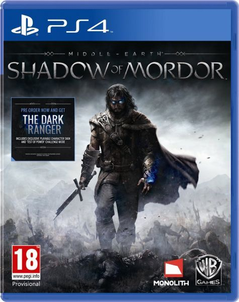 Middle Earth Shadow of Mordor (PS4) Pre-Owned