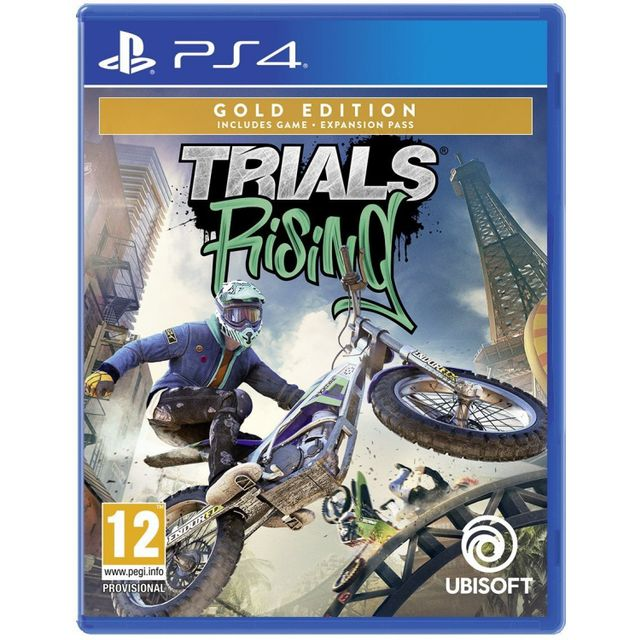 Trials Rising Gold Edition (PS4)
