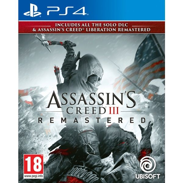 Assassin's Creed III Remastered (PS4) Pre-Order (Releasing On :29 Mar 2019)