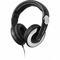Sennheiser HD 205 II Closed Back Around Over-Ear Stereo Headphone and Rotatable Ear Cup (Black)