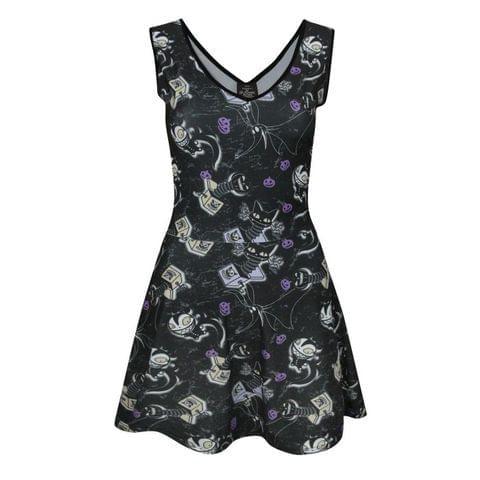 Nightmare Before Christmas Womens/Ladies Vampire Teddy Dress