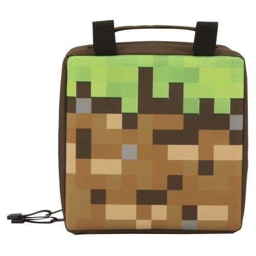 Minecraft Childrens/Kids Dirt Block Lunch Bag