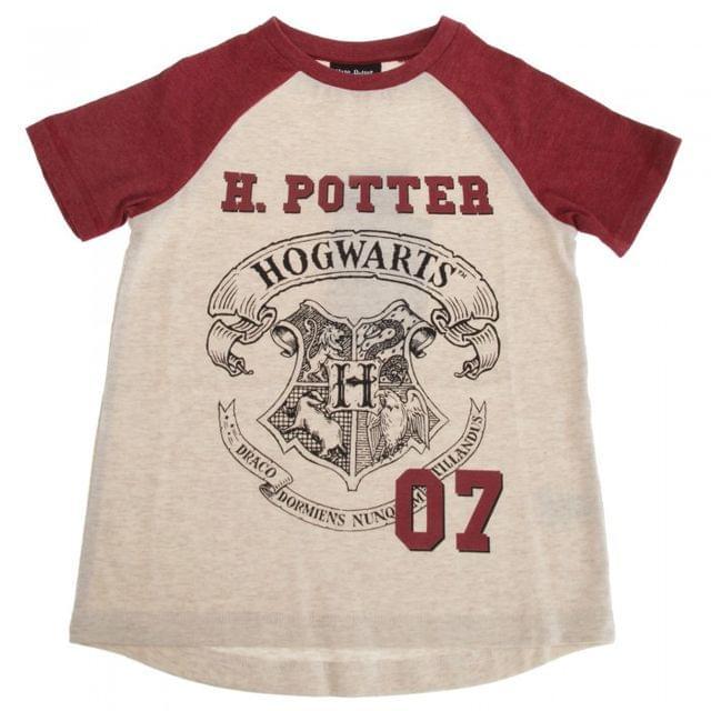 Harry Potter Childrens/Kids Hogwarts T-Shirt