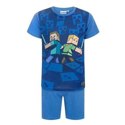 Minecraft Official Boys Surrounded Pyjamas