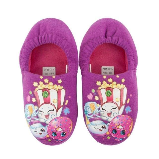Shopkins Childrens Girls Slippers