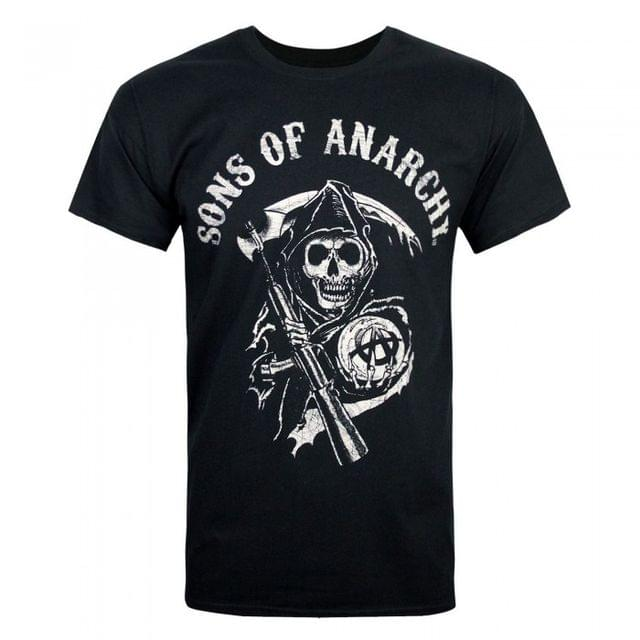 Sons Of Anarchy Official Mens Reaper Mens T-Shirt