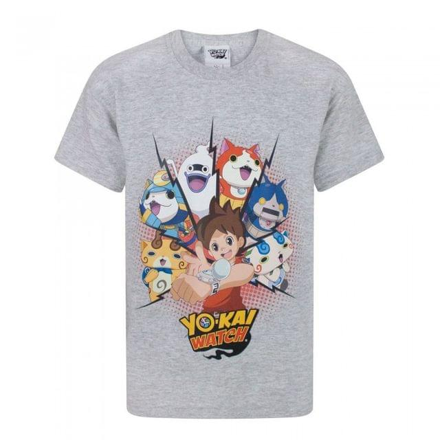Yo-Kai Watch Childrens/Boys Official Nate Character T-Shirt
