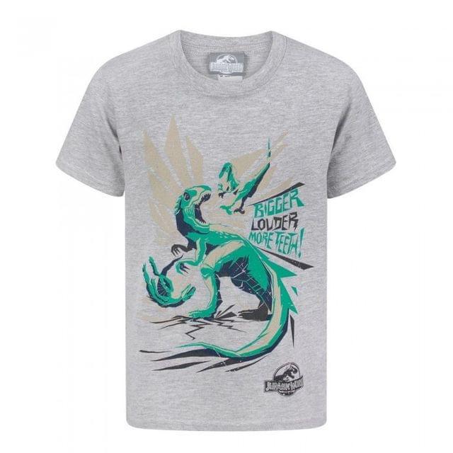 Jurassic World Official Boys Bigger Teeth T-Shirt