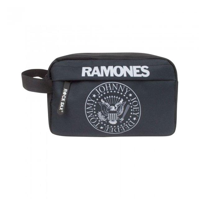 Rock Sax Official Unisex Ramones Seal Washbag