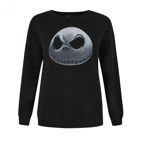 Nightmare Before Christmas Womens/Ladies Jack Skellington Sweater
