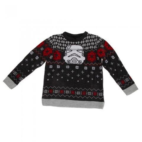 Star Wars Childrens/Kids Unisex Official Stormtrooper Christmas Jumper