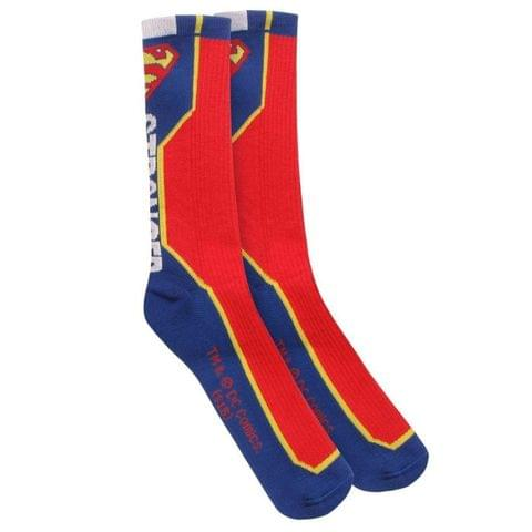 DC Comics Official Mens Superman Stronger Socks (One Pair)