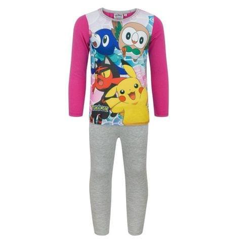 Pokemon Childrens Girls Starters Pyjamas