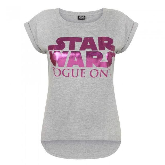 Star Wars Womens/Ladies Rogue One Dipped Hem T-Shirt