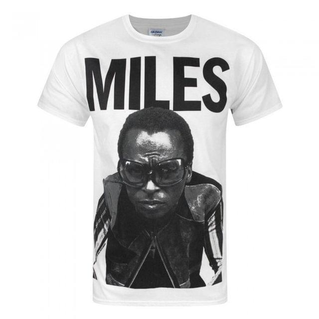 Miles Davis Mens Portrait T-Shirt