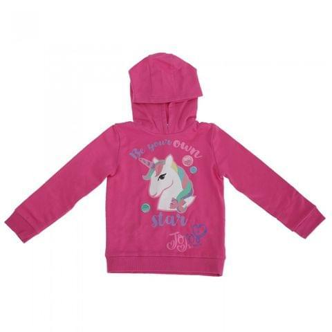 Jojo Siwa Childrens Girls Be Your Own Star Unicorn Hoodie