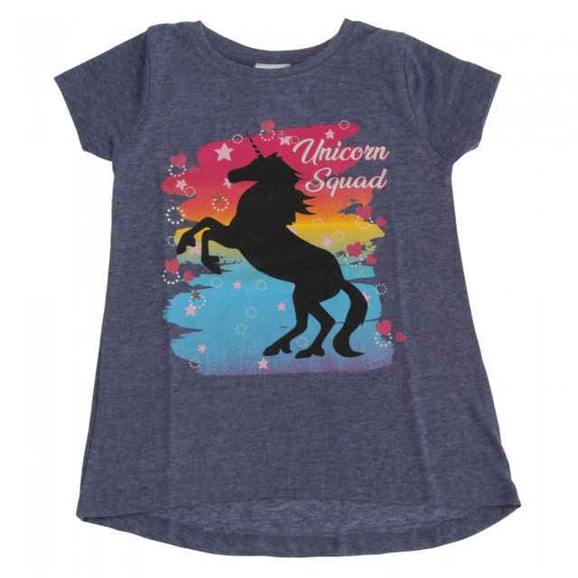 Childrens Girls Unicorn Squad T-Shirt