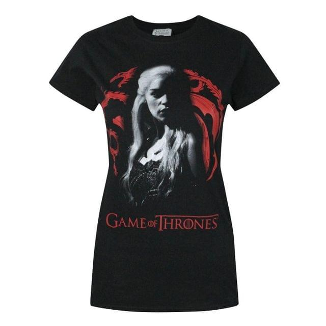 Game Of Thrones Womens/Ladies Daenerys Targaryen T-Shirt