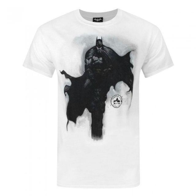 Arkham City Mens Batman Tower T-Shirt