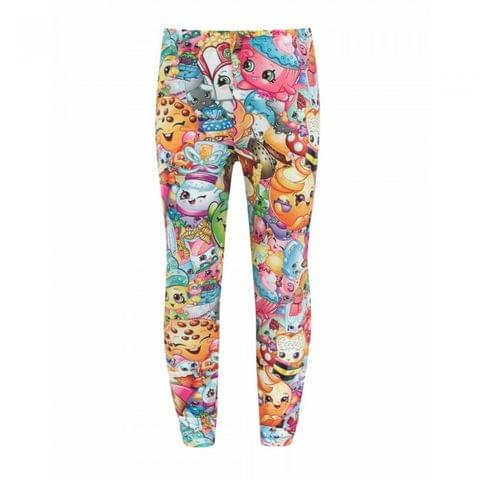 Shopkins Childrens/Girls Official Character Collage Leggings